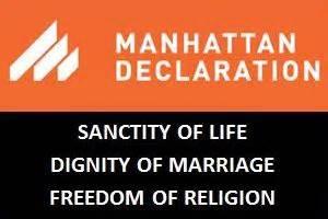 Archbishop Chaput: Manhattan Declaration will galvanize Christians in difficult times