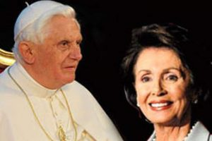 Pope Urges Nancy Pelosi and All Catholic US Legislators to Defend Life
