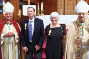 Anchorage, Alaska: Ed and Cathy Rasmuson Awarded Papal Benemerenti Medal