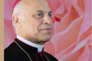 Archbishop Cordileone - Rose and a Rosary for Nancy Pelosi