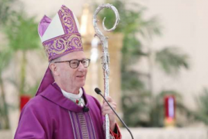 Bishop Conley announces medical leave of absence from Lincoln diocese