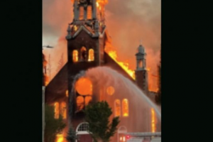 Canadian police investigate two more 'suspicious' fires at Catholic churches