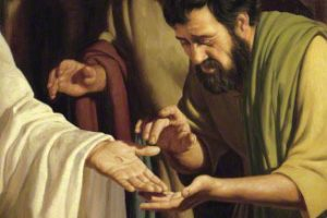 The Consistency of Christ: The Nails in the Palms and the Palms in the Nails