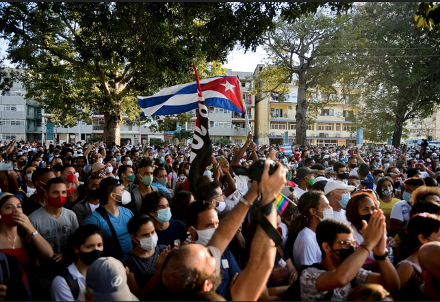 Catholic Priest Beaten and Arrested Amid Protests in Cuba