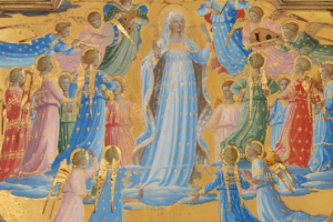 O Most Holy Mother and Virgin, Feast of the Assumption, Our Beginning, Our Hope