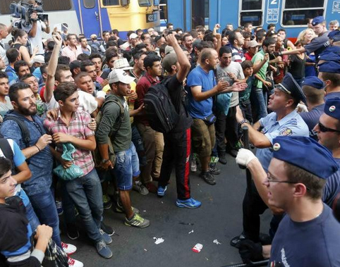 Europe Fed-Up:  Migrant Muslim