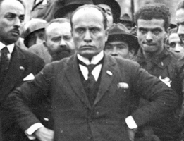 HISTORY:  Mussolini and His Blackshirts March on Rome