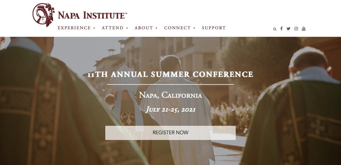 Napa Institute July 21-25-2021