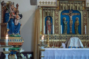 Despite the pandemic, Catholic shrine enjoys 'biggest pilgrimage season' in its history