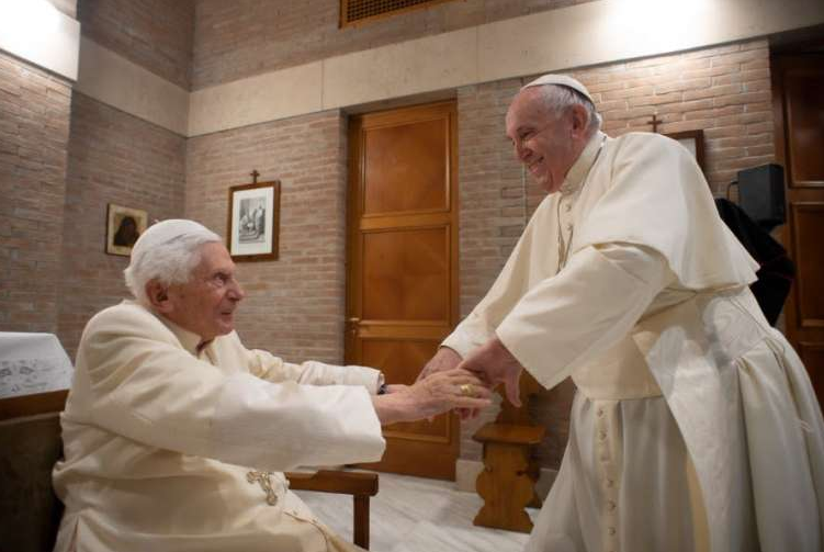 Benedict XVI addresses resignation conspiracy theories, Iraq, and Biden in new interview