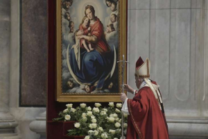 Pope Francis adds three titles to Catholic litany of the Blessed Virgin Mary