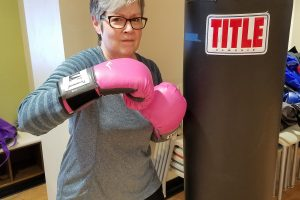 She Fights Parkinson's in the Boxing Ring