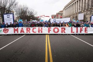 MARCH FOR LIFE 2018: Catholic Colleges Converge on D.C. for Annual Pro-life Event