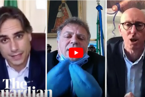 In Italy: Mayors take to social media and even drones to stop spread of coronavirus – See short video