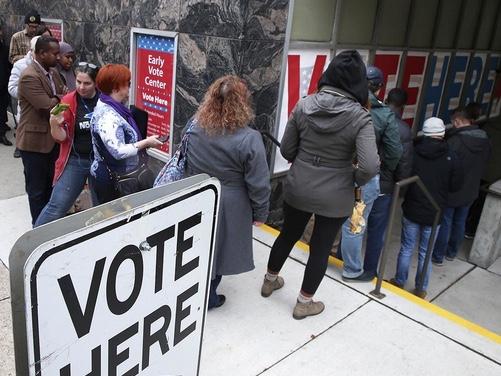 36 Million have already voted:  GO VOTE!
